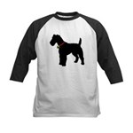 Christmas or Holiday Fox Terrier Silhouette Kids B