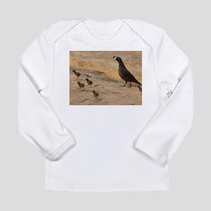 Quail Family Long Sleeve Infant T-Shirt