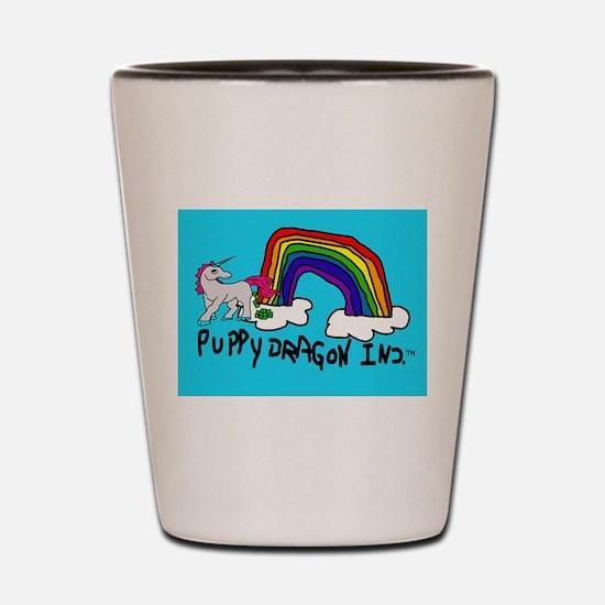 Cute Unicorn poop Shot Glass