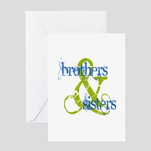 Brothers & Sisters Television Greeting Card