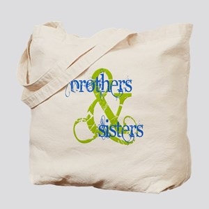 Brothers & Sisters Television Tote Bag