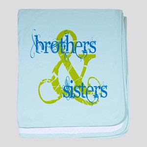 Brothers & Sisters Television baby blanket
