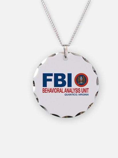 Criminal Minds FBI BAU Necklace