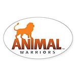 AW Logo Sticker (Oval)
