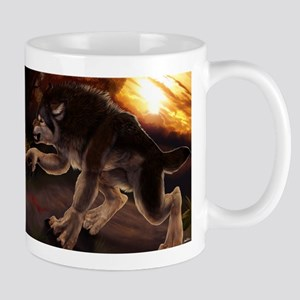 werewolfcalendarentry Mugs
