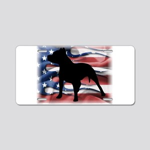 Pit Patriot Aluminum License Plate