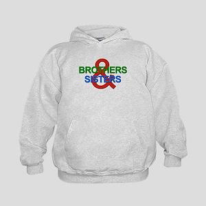 Brothers & Sisters Television Kids Hoodie