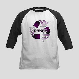 Recycle Dance Kids Baseball Jersey