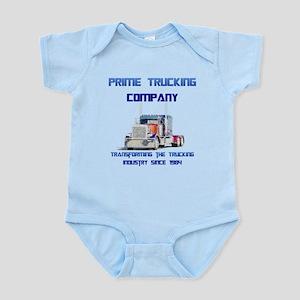 Prime Trucking Infant Bodysuit