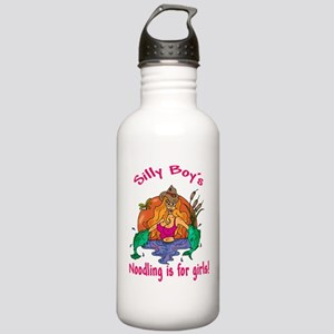 Noodling is for girls Stainless Water Bottle 1.0L