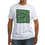 Snail: Tremble... Fitted T-Shirt