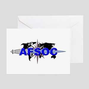 AFSOC (new) Greeting Cards (Pk of 10)
