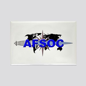 AFSOC (new) Rectangle Magnet