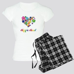 Hippie Heart Women's Light Pajamas