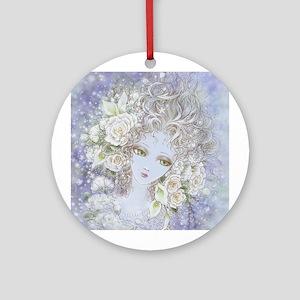 Fade to White Ornament (Round)
