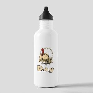 Turkey Day - Design for thank Stainless Water Bott