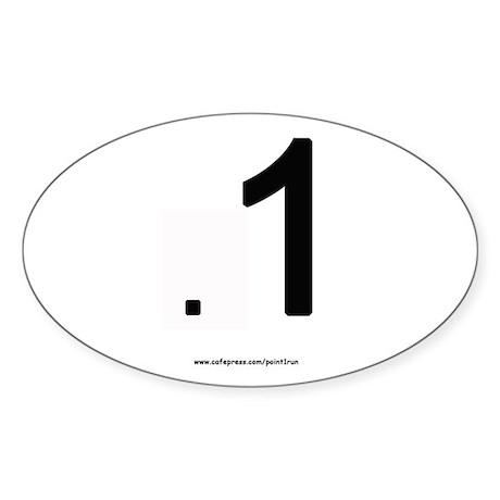 .1 Marathon Sticker - funny!