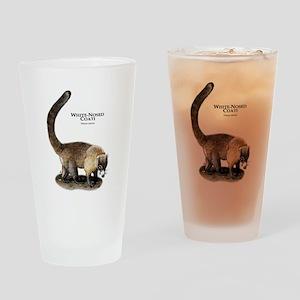 White-Nosed Coati or Coatimun Drinking Glass