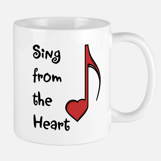 Sing from the Heart Mug