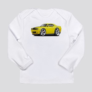 Challenger SRT8 Yellow Car Long Sleeve Infant T-Sh