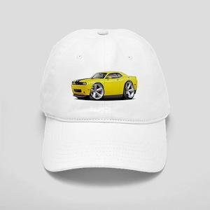 Challenger SRT8 Yellow Car Cap