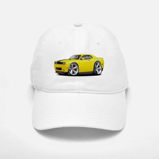 Challenger SRT8 Yellow Car Baseball Baseball Cap