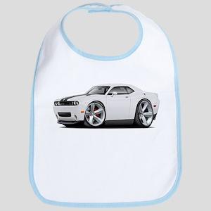 Challenger SRT8 White Car Bib