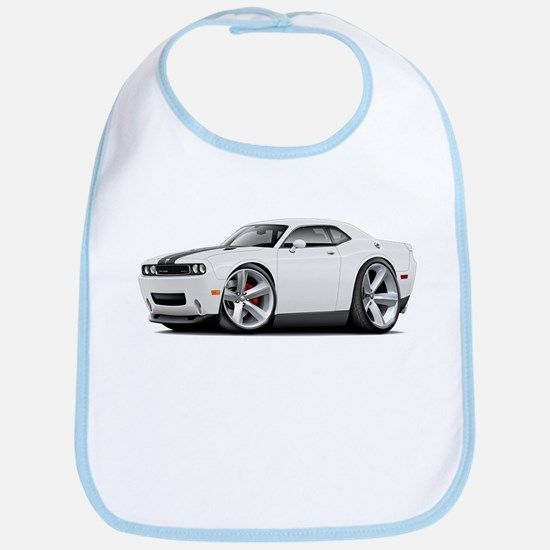 Challenger SRT8 White Car Bib
