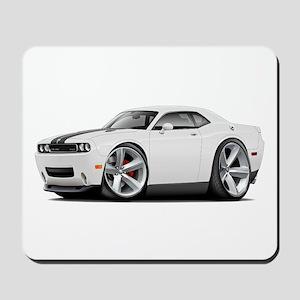 Challenger SRT8 White Car Mousepad