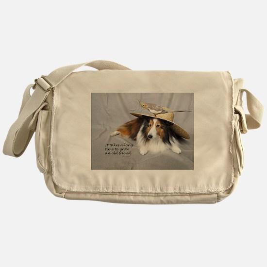 Old Friends Messenger Bag