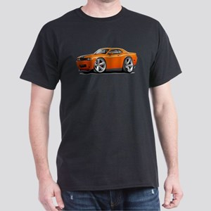 Challenger SRT8 Orange Car Dark T-Shirt