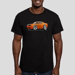Challenger SRT8 Orange Car Men's Fitted T-Shirt (d