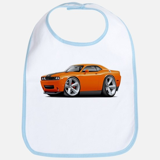 Challenger SRT8 Orange Car Bib