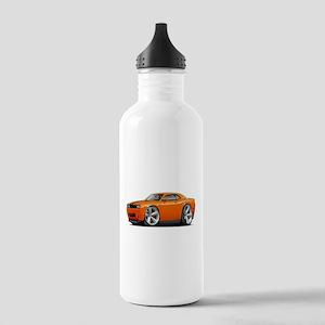 Challenger SRT8 Orange Car Stainless Water Bottle