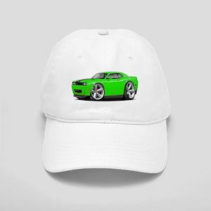 Challenger SRT8 Green Car Cap