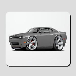 Challenger SRT8 Grey Car Mousepad