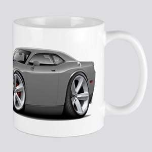 Challenger SRT8 Grey Car Mug