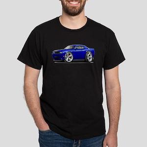 Challenger SRT8 Dk Blue Car Dark T-Shirt