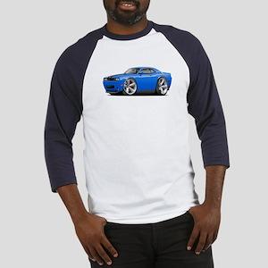 Challenger SRT8 B5 Blue Car Baseball Jersey