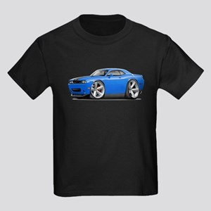 Challenger SRT8 B5 Blue Car Kids Dark T-Shirt