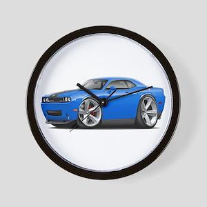 Challenger SRT8 B5 Blue Car Wall Clock