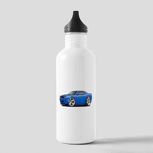 Challenger SRT8 B5 Blue Car Stainless Water Bottle