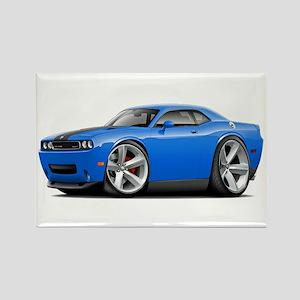 Challenger SRT8 B5 Blue Car Rectangle Magnet
