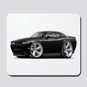 Challenger SRT8 Black Car Mousepad