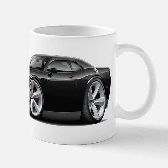 Challenger SRT8 Black Car Mug
