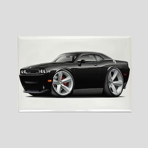 Challenger SRT8 Black Car Rectangle Magnet