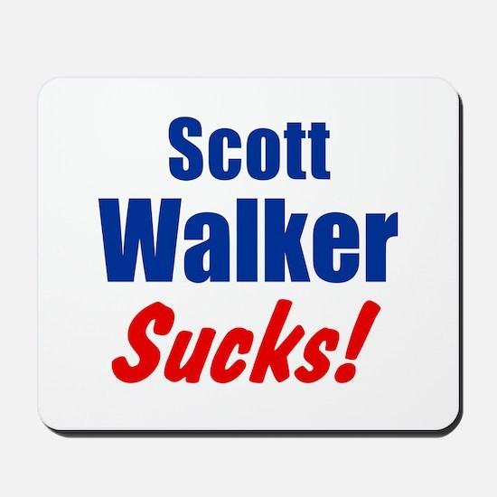 Scott Walker Sucks Mousepad