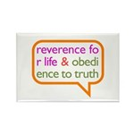 A Mini Philosophy Rectangle Magnet (100 pack)