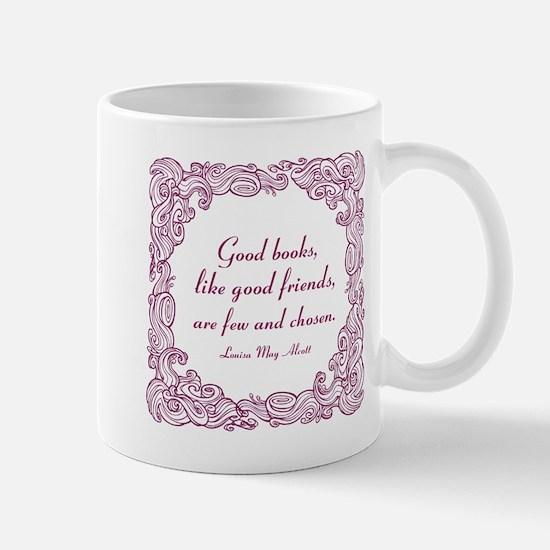 Good Books (berry) Mug
