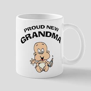 Proud New Grandma Mug